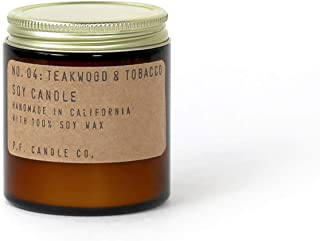 P.F. Candle Co.... - No. 04: Teakwood & Tobacco Soy Candle (3.5 oz)