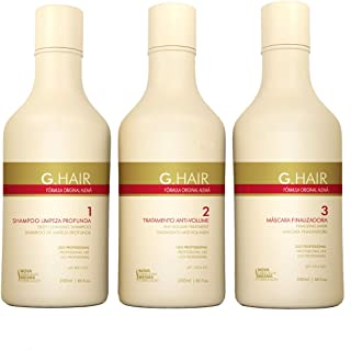 G.Hair Original Formula Smoothing Treatment Kit- 3-Steps - 250ml / 8.4oz