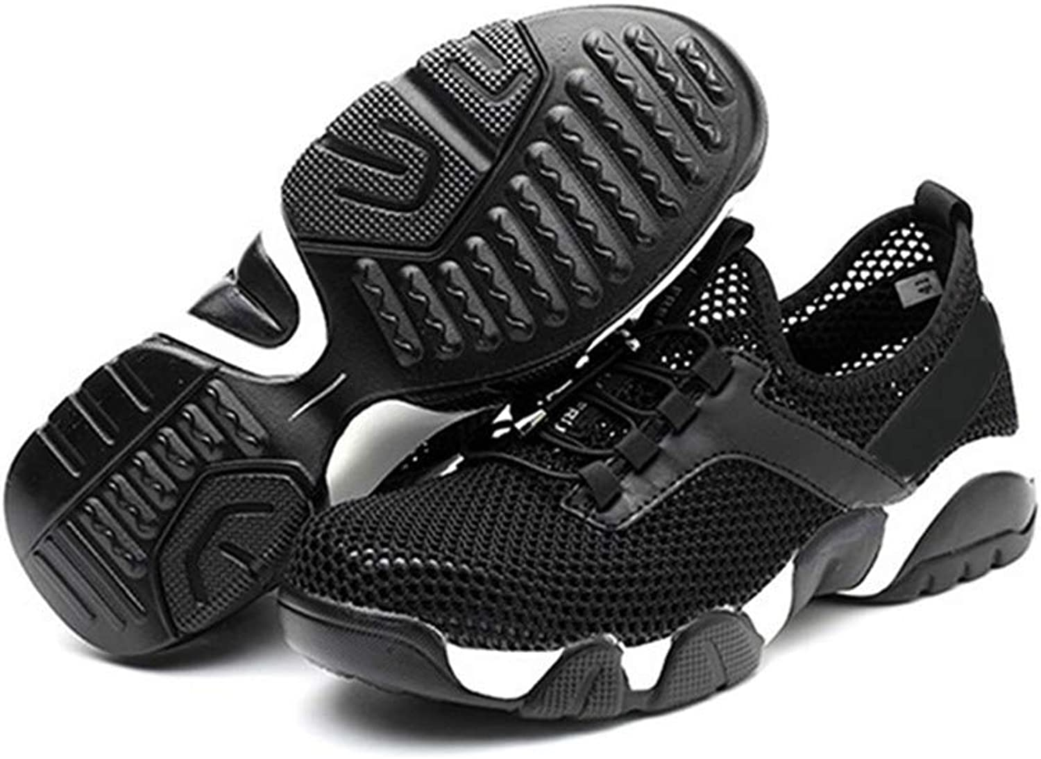 Liveday Safe Predective Worker shoes for Men Women Heavy Duty Anti Slip Breathable Sneakers