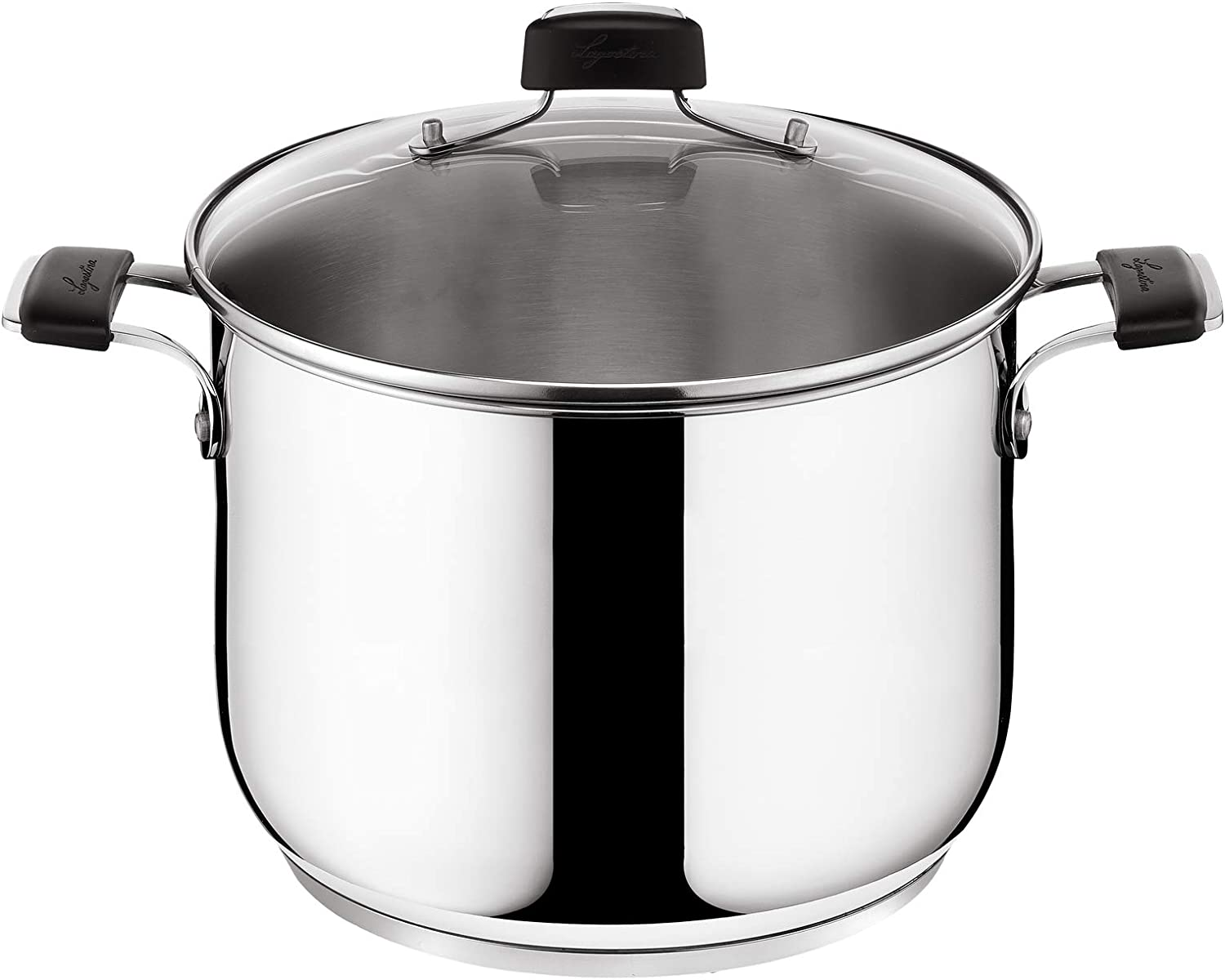 Lagostina Tempra LAGTEIT24 Cooking Pot 24 cm Steel Fashion Stainless Sale Special Price -
