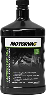 Motorvac 400-0126 MV3 CarbonClean Fuel System Cleaner, 32oz, Pack of 4