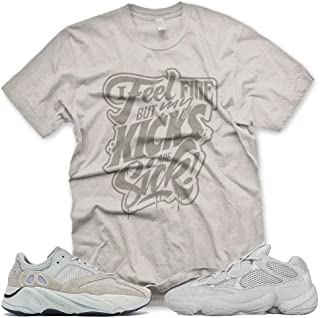 New SICK KICKS T Shirt for Adidas Yeezy Boost 500 700 Salt Desert