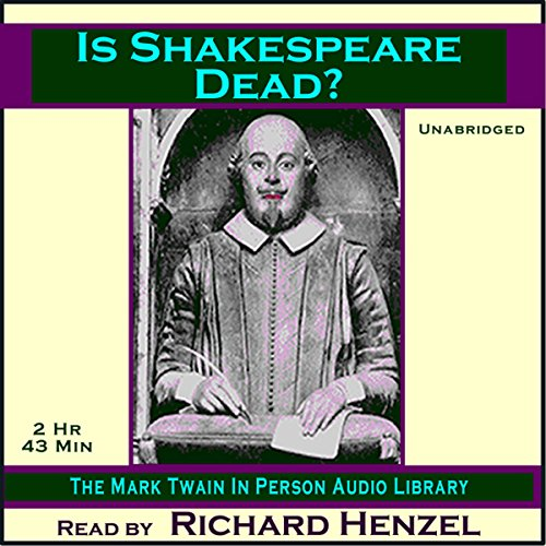 Is Shakespeare Dead? cover art