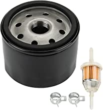 Milttor AM125424 492932 Oil Filter for Briggs & Stratton 492932S 492056 795890 695396 696854 842921 John Deere GY20577 Kawasaki 49065-7007 Lawn Mower