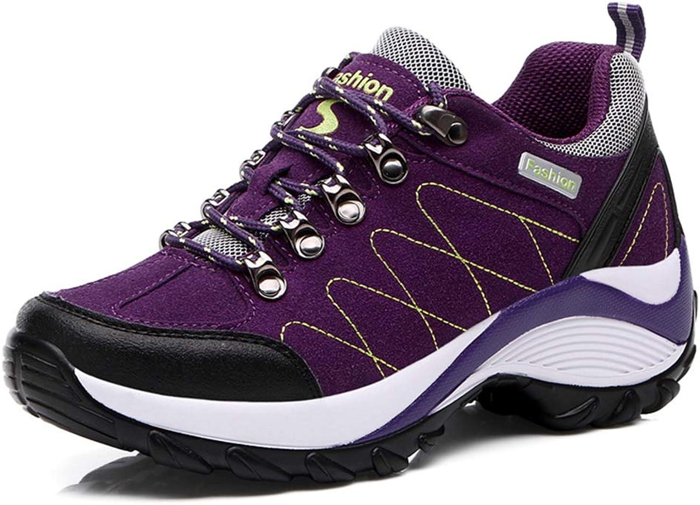 Giles Jones Women's Hiking shoes High Heels Comfort Non-Slip Climbing Mountain shoes