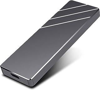 外付けHDD ポータブル Mac 2TB そと付けハードディスク ポータブル 外付けハードディスク 超薄型外付けHDD(Black,2TB)