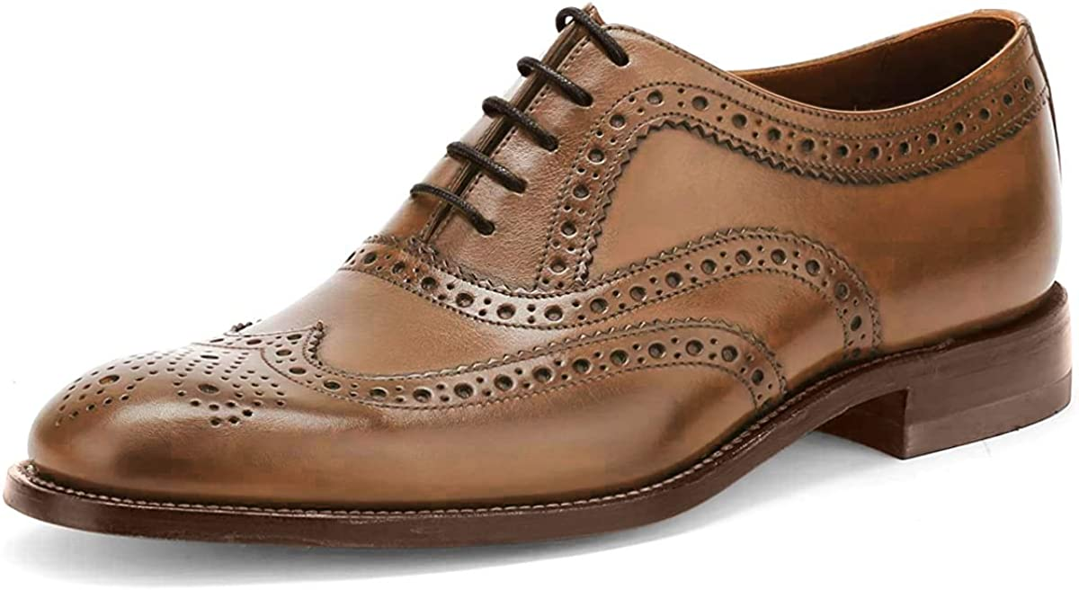 Loake Fearnley Mens Brogue Shoe
