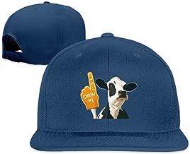 Fashion Funny Cow Finger Joke Hiphop Baseball Hat Unisex