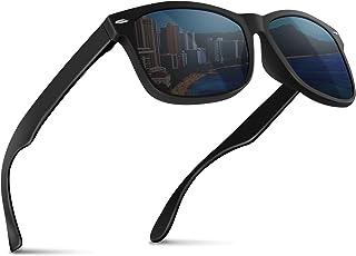 MODE des MONDE 【anan掲載モデル】サングラス メンズ 偏光レンズ UV400 ハードケース付
