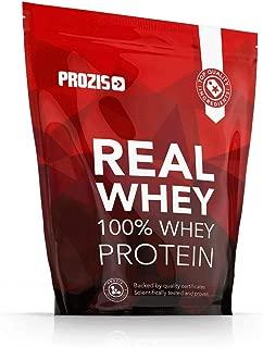 Prozis 100% Real Whey Protein, Suplemento Puro en Polvo con un Perfil Completo de Aminoácidos y Rico en BCAA, Fresa - 1000 g