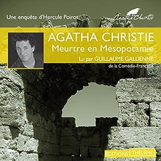 Meurtre en Mésopotamie audiobook cover art