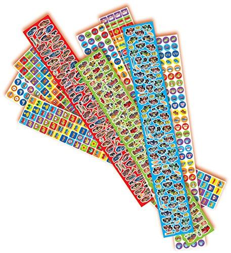 Simba 106304175 - Art & Fun 1.000 Jungen Sticker
