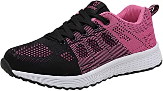 Qootent Womens Gym Sneakers Outdoor Cycling Shoes Tennis Athletic Running Shoes