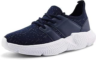 JABASIC Kids Lightweight Running Shoes Boys Girls Casual Slip on Sneakers