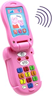 Peppa Pig Flip & Learn Toy Phone for Kids