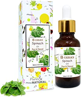 B-URBAN Spinach Oil 100% Natural Pure Undiluted Uncut Carrier Oil 30ml
