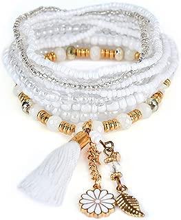 4Pcs Bracelet Bohême Vintage Pour Femme Mariage Bijoux Accessoire Décor Cadeaux