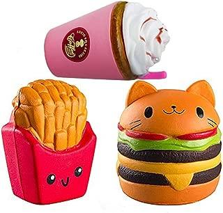 cat hamburger squishy