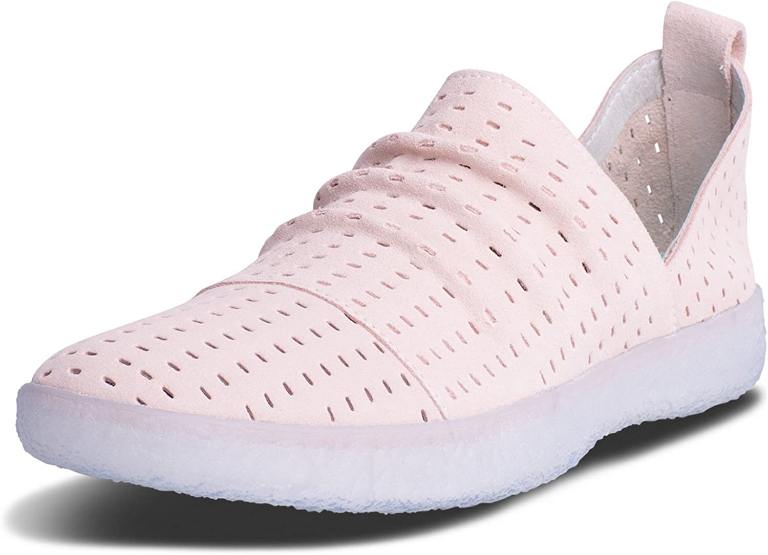 bluePrint Stinson Slip-On Womens Cool and Casual shoes Cloud Imprint Comfort Technology-Pink