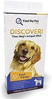 Find My Pet DNA Dog DNA Test - Dog Breed Test kit, DNA Test for Dogs, k9 DNA Test, Your Dogs DNA Matters - 1 DNA Kit for Dogs