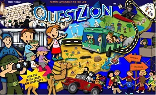 calidad garantizada Jewish Gift  QuestZion - The The The Game of Israel. by Wizdom Judaica, Bar Mitzvah and Bat Mitzvah gifts  wholesape barato