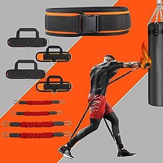 KIKIGOAL MMA Boxing Training Resisted Band Enhance قدرت انفجاری قدرت و مهارت چابکی تجهیزات آموزش موی تای ، مبارزه کاراته ، تناسب اندام ، بسکتبال ، والیبال ، پرش عمودی فوتبال