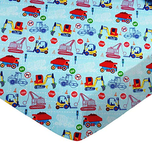 SheetWorld 100% Cotton Percale Fitted Crib Toddler...
