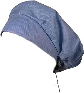 Disposable Banded Bouffant Medical Cap - Ceil Blue 25 pcs