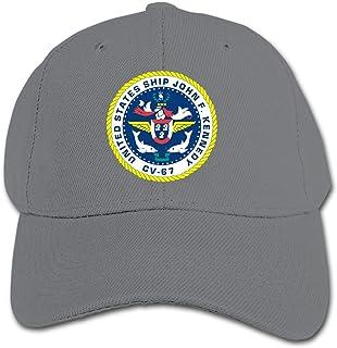 ADGoods Kids Children USS John F. Kennedy CV-67 License Baseball Cap Adjustable Trucker Cap Sun Visor Hat For Boys Girls G...
