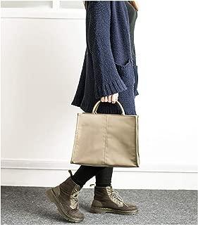 GY Simple Version of One Shoulder Slung File Bag Temperament Fashion Business Handcuffs Portable Briefcase Female Commuter Bag Student Bag (Color : Brown)