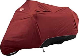 UltraGard 4-444AB Cranberry/Black Touring Motorcycle Cover