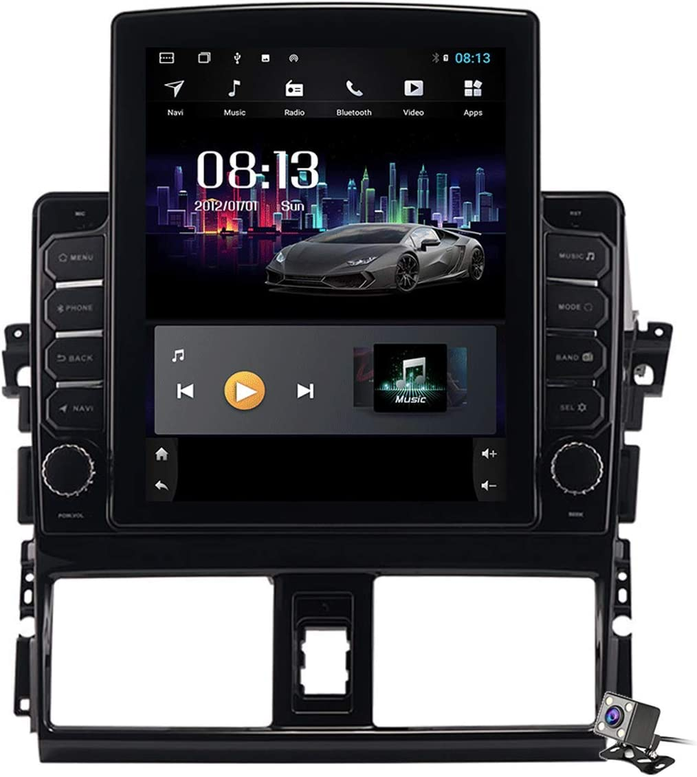 HBWZ Android 9.0 Car Long-awaited Stereo Los Angeles Mall Radio Vios Toyota for Yaris 2013- L