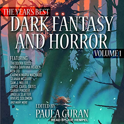 The Year's Best Dark Fantasy & Horror, Volume 1 cover art