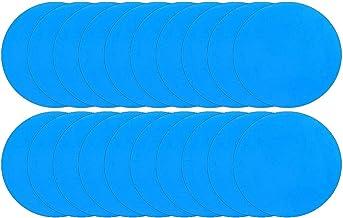 20 Stuks Zelfklevende PVC-vinyl Reparatiepleisters Van Hoge Kwaliteit Voor Opblaasbaar Zwembadspeelgoed, Gemakkelijk Te Ge...