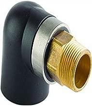 Viega 90366 PureFlow ProPress Manabloc Supply Adapter with 1-Inch by 1-Inch ProPress x Manabloc