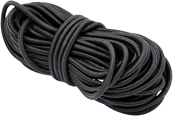 Noir chapeaux de f/ête 1/mm 100 metres confection de bijoux Cordon /élastique rond pour loisirs cr/éatifs 1,5/mm 1mm 2/mm ou 3/mm masques