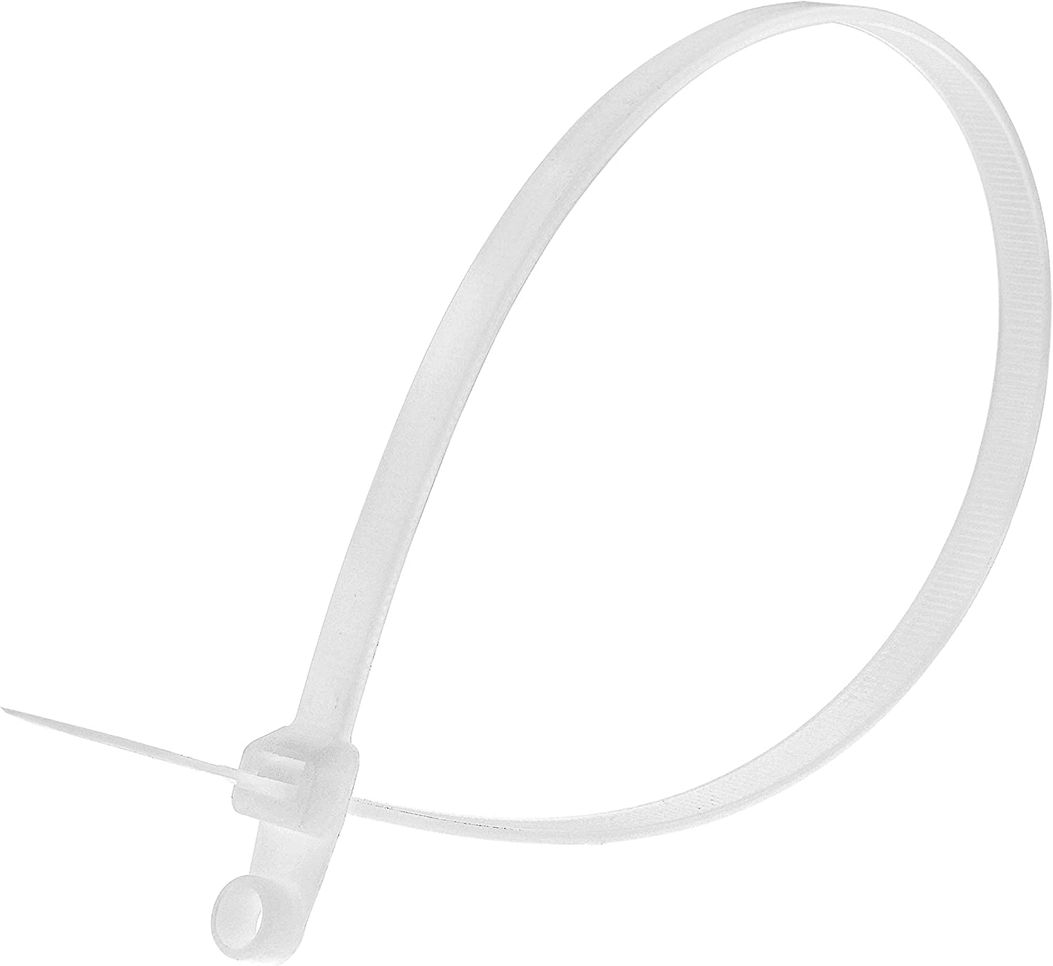 100 Pack 16 Inch Natural Heavy Duty Mount Head Cable Tie