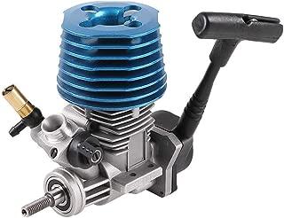 Hootracker RC Car Engine 18 Nitro Engine Motor Carburetor 2.74cc with Pull Starter Recoil Start for 1/10 HSP HPI Nitro Buggy Truggy Truck Drift Car