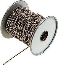 Lucky Line Nickel-Plated Steel (No. 6) Ball Chain Spool, 100-Feet (31700)