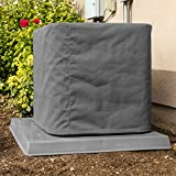 SugarHouse Outdoor Air Conditioner Cover - Ultimate Sunbrella Canvas - Made in The USA - 20-Year Warranty - 32' x 32' x 36' - Charcoal Gray