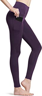 TSLA Women's (Pack of 1, 2) Thermal Yoga Pants, High Waist Warm Fleece Lined Leggings, Winter Workout Running Tights with ...