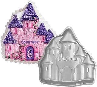 Aluminum 3D 11 Inch Castle Shaped Cake Decorating Mould Tool Baking Pan Tin Baking Tool