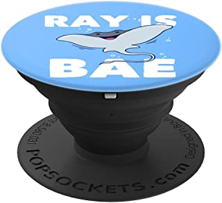 Ray Is Bae  - Stingray Manta Sea PopSockets Grip and Stand for Phones and Tablets