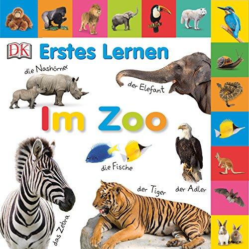 Erstes Lernen. Im Zoo: Pappbilderbuch mit Griff-Register und über 100 Fotos ab 1 Jahr