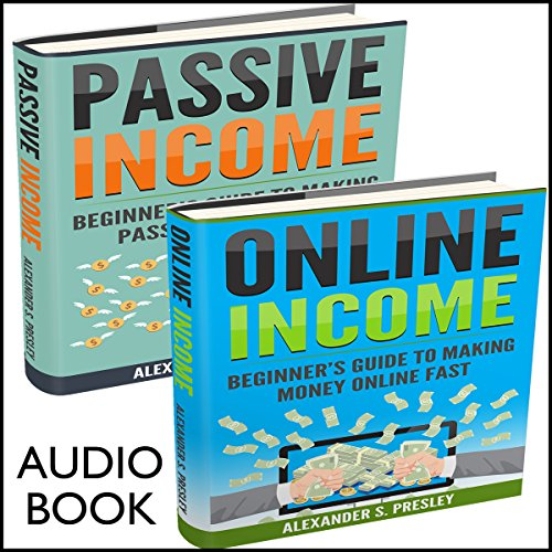 Work from Home, 2 Manuscripts: Online Income and Passive Income