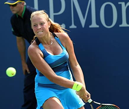 Gifts Delight Laminated 25x21 Poster: Anett Kontaveit at The 2012 US Open
