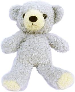 童心 くま ぬいぐるみ グレー ぬい撮りに挑戦 クマのフカフカ オリジナル 高さ21㎝