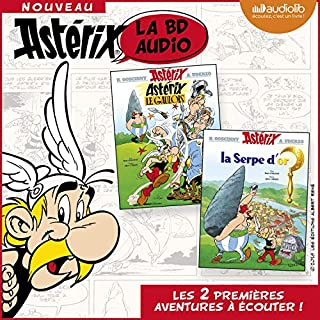 Astérix le Gaulois / Astérix, La serpe d'or                   De :                                                                                                                                 René Goscinny,                                                                                        Albert Uderzo                               Lu par :                                                                                                                                 Dominique Pinon,                                                                                        Jean-Claude Donda,                                                                                        Guillaume Briat,                   and others                 Durée : 1 h et 20 min     33 notations     Global 4,6