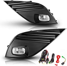 Fog Lights for 2018-2019 Toyota Camry SE XSE (Not for Hybrid Model) AUTOFREE LED Driving Lamps Included Wiring Kit & Switch-1 Pair(Clear Lens)