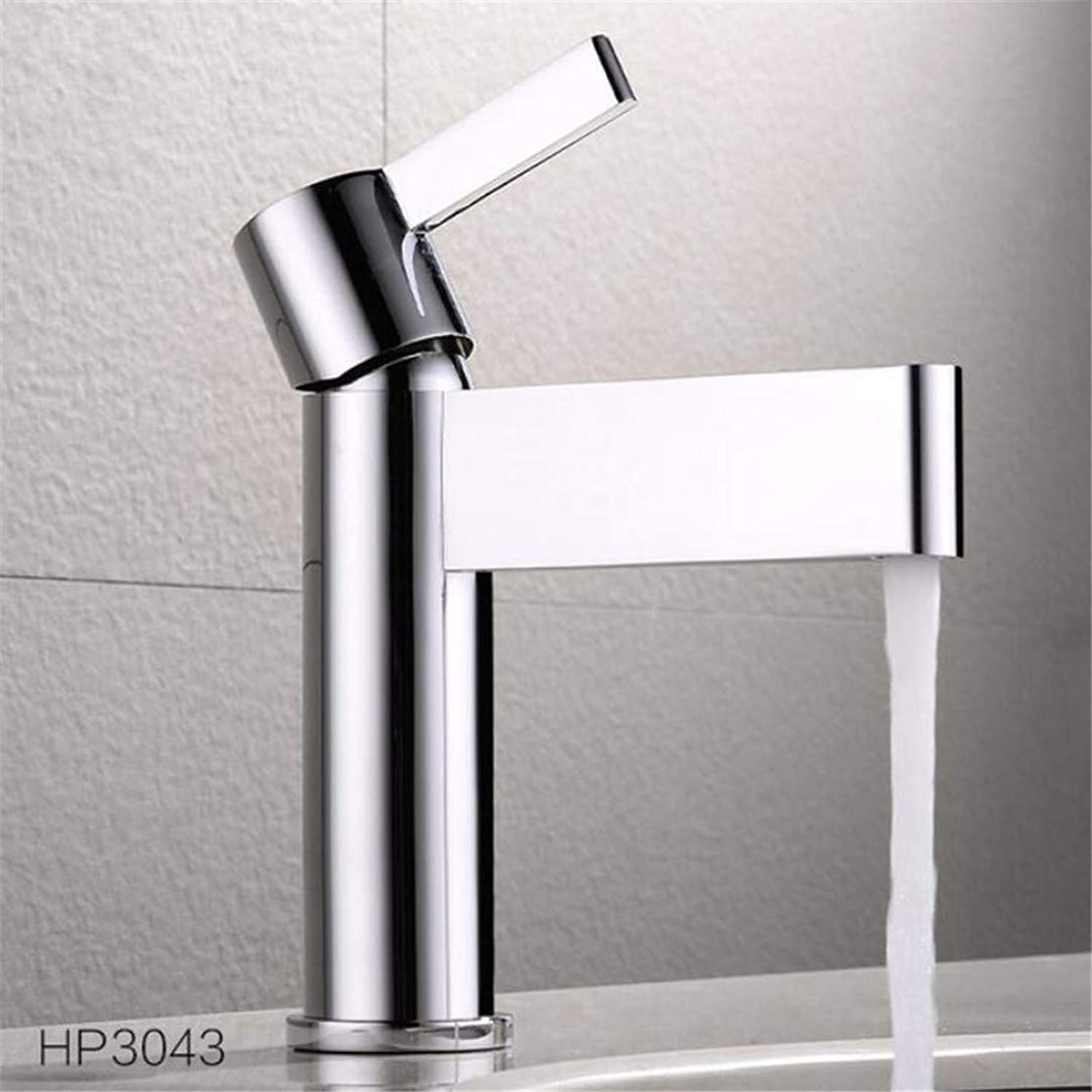 Faucet Washbasin Mixer High Quality Single Handle Hot Cold Chrome Bathroom Faucet Water Tap Mixer Brass Basin Faucet
